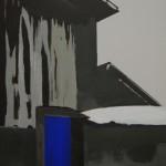 zonder titel 50 x 70 cm, acryl op mdf
