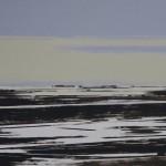 Dutch landscape 2017 50 x 70 cm. acryl op MDF